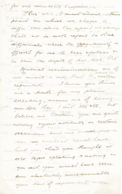 Letter from William Colbeck to Edith Robinson DUNIH 1.003