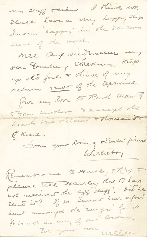 Letter from William Colbeck to Edith Robinson DUNIH 1.005