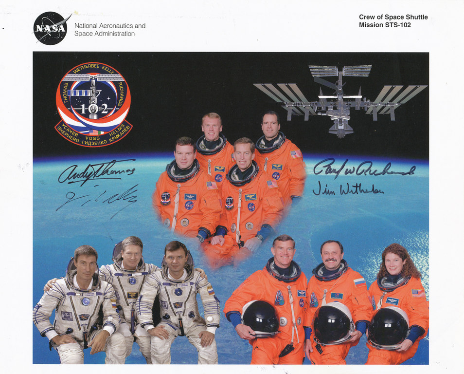 Space Shuttle Crew DUNIH 2010.46.9