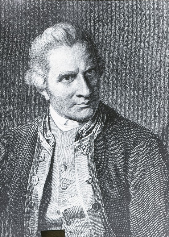 Captain james cook in antarctica at dundee heritage trust sciox Images