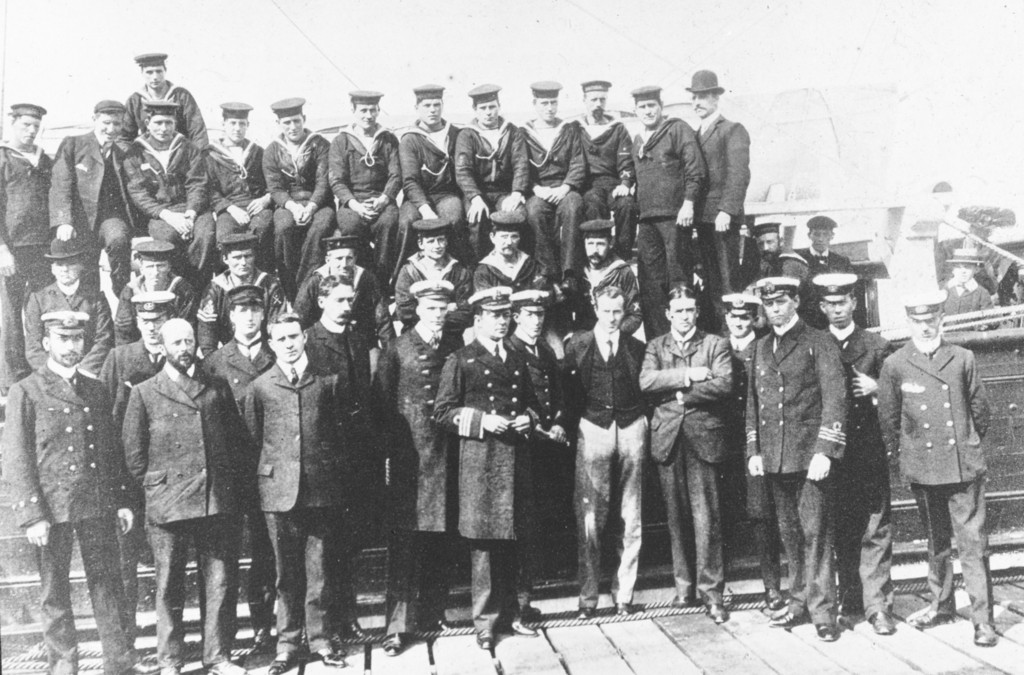 The crew of Discovery ROY.30.4.56