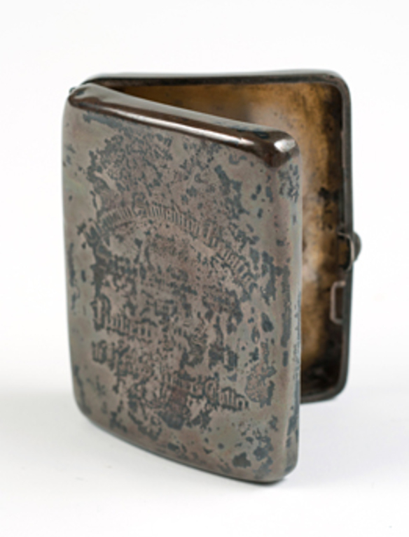 Cigarette case owned by Captain Scott W 79.133.47