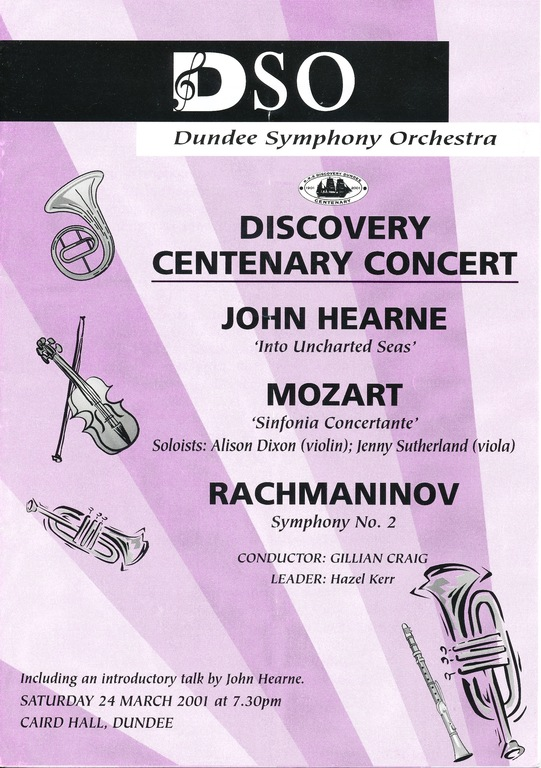 Dicovery Centenary Concert DUNIH 2010.46.1