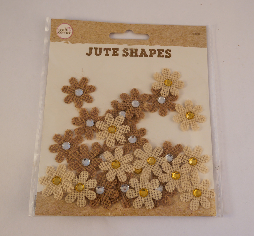 Jute Flower Shapes DUNIH 2017.22.3