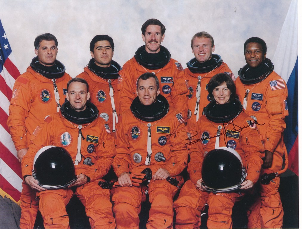 Photograph of the Crew of Space Shuttle Mission STS-89 DUNIH 2018.7.1