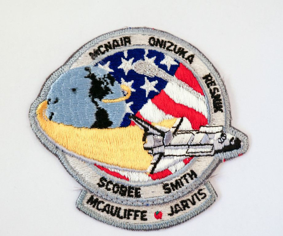 Space  Mission Patch, STS-51 L Challenger , 28 January 1986 DUNIH 2018.7.10