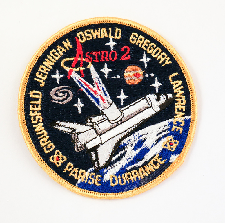 Space  Mission Patch, STS-67 Endeavour , 2 -18 March 1995 DUNIH 2018.7.15