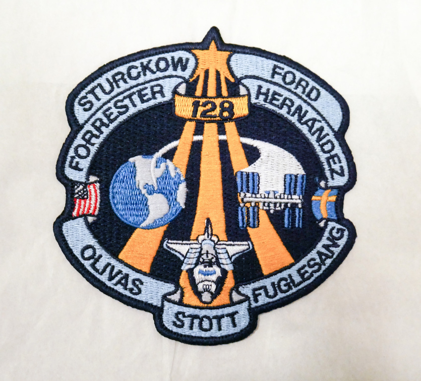 Space  Mission Patch, STS-128 Discovery, 29 August -12 September 2009 DUNIH 2018.7.16