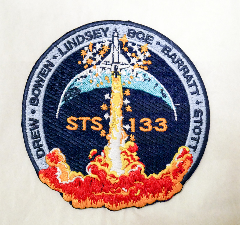 Space  Mission Patch, STS-133 Discovery, 24 February - 9 March 2011 DUNIH 2018.7.17