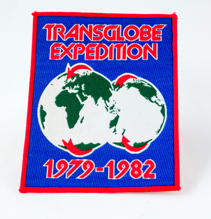 Expedition badge relating to the Transglobal Expedition 1979-1982 DUNIH 2018.11