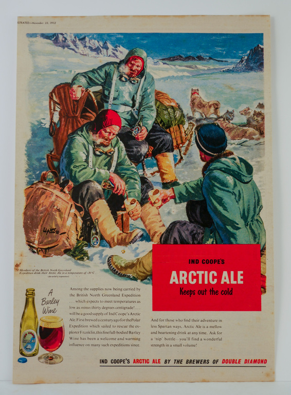 Poster for Ind Coope\'s Arctic Ale DUNIH 2018.19