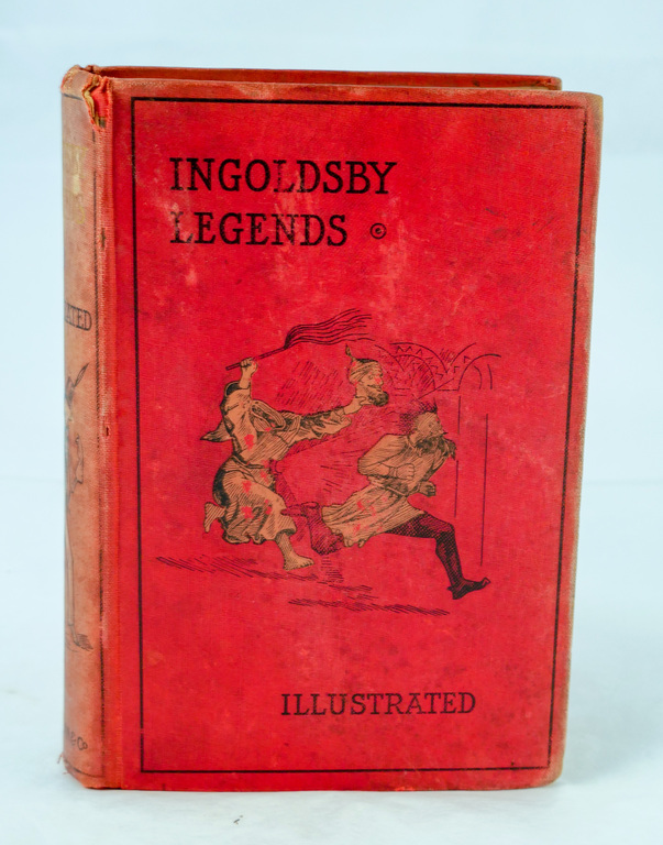 'Ingoldsby Legends' - Book part of Discovery 1901-1904 library DUNIH 2018.24.3