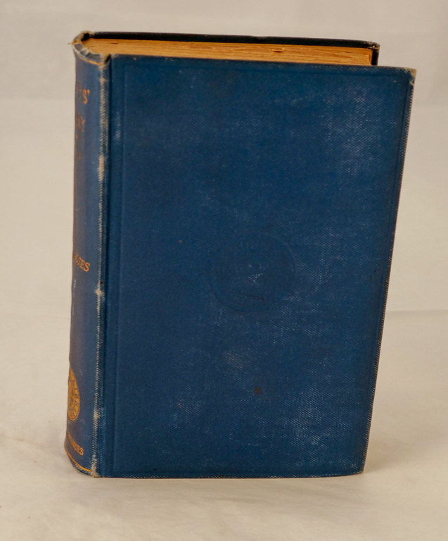 'Pepy&#39s Diary: Volume I' - Book part of Discovery 1901-1904 library DUNIH 2018.24.4.1