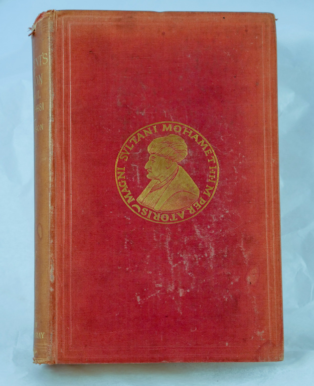 'The Student's Gibson (A History of the Decline and Fall of the Roman Empire): Part II' - Book part of Discovery 1901-1904 library DUNIH 2018.24.14