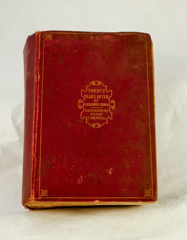 'Twenty Years After' - Book part of Discovery 1901-1904 library DUNIH 2018.24.15
