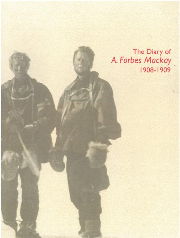 The Diary A Forbes MacKay. DUNIH 2018.32.2