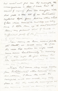Image of Letter from William Colbeck to Edith Robinson DUNIH 1.002