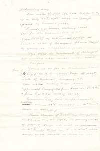 Image of Draft copy of telegram sent from the Morning, 1903 DUNIH 1.024