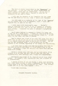 Image of Copy letter to Colbeck about the second relief expedition DUNIH 1.076