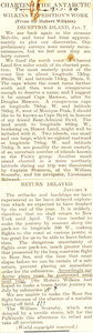 Image of Article featuring Wilkins's diary reports DUNIH 1.306