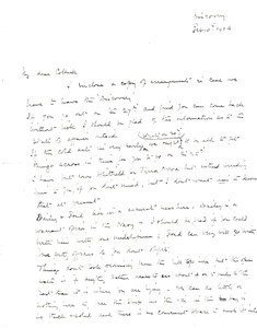 Image of Copy letter sent to W.Colbeck re. news of expedition DUNIH 1.550