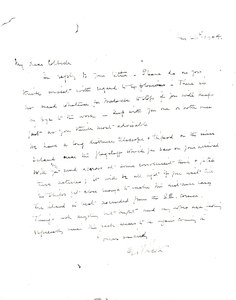 Image of Photocopy of letter to Colbeck re. telescope DUNIH 1.554