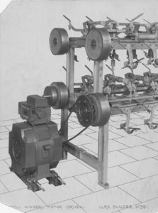 Image of Roll Winder Motor Drive DUNIH 111.31