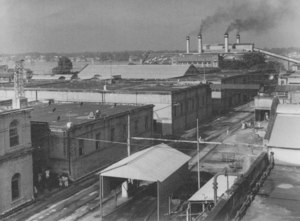 Image of View of Gourepore Jute Mills DUNIH 200.2