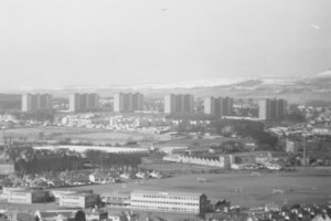Image of View from Dundee Law looking over the city DUNIH 2008.105.3
