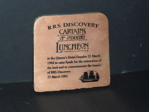 Image of Ingot honouring Discovery Captains of Industry Lunch DUNIH 2008.160.1