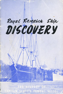 Image of History of RRS Discovery, Boy Scouts Association DUNIH 201