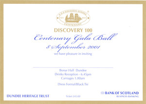 Image of Discovery Centenary Gala Ball DUNIH 2010.46.8