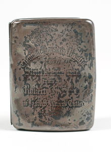 Image of Cigarette case owned by Captain Scott W 79.133.47