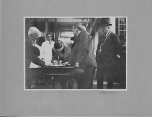 Image of Prince of Wales visit to Ashton Works, 1923 DUNIH 113.20