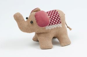 Image of Jute Toy Elephant DUNIH 2013.17