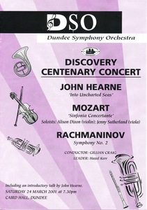 Image of Dicovery Centenary Concert DUNIH 2010.46.1