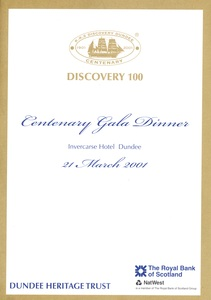 Image of Discovery 100 Centenary Gala Dinner DUNIH 2010.46.5