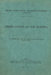 Image of Report on the Observations on the Aurora DUNIH 2014.14.8