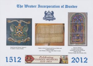 Image of Placemat, 500th Anniversary of the Dundee Weaver Craft Dinner DUNIH 2016.13.3