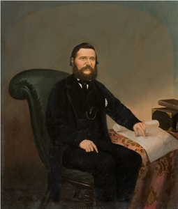Image of Portrait of C A Phillips DUNIH 453.3