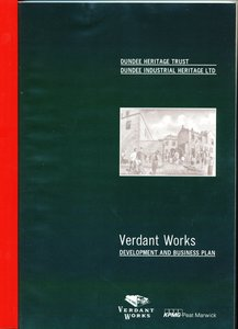 Image of Booklet Verdant Works, dated 24th August 1992 DUNIH 2016.38.1