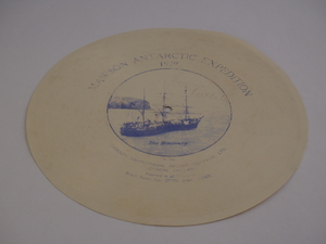 Image of Gramophone Record from 1929 BANZARE expedition DUNIH 2015.7