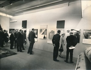 Image of Photograph of the Queen looking at Sidlaw's products, May 1969 DUNIH 2017.16.2.29