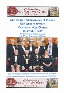 Image of Commemerative edition of The Dundee Weaver, Sept 2012 DUNIH 2014.18.1