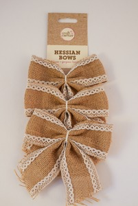 Image of 3 Jute Bows DUNIH 2017.22.2