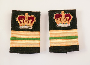Image of Epaulettes taken from a British Antarctic Survey uniform DUNIH 2017.25.2