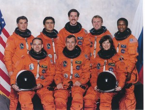 Image of Photograph of the Crew of Space Shuttle Mission STS-89 DUNIH 2018.7.1
