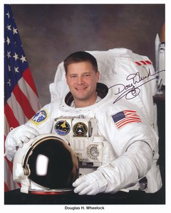 Image of Signed photograph of  NASA astronaut Douglas H Wheelock DUNIH 2018.7.2