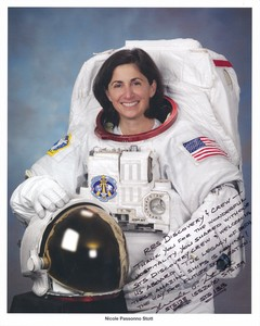 Image of Signed photograph of NASA astronaut Nicole Passonno Stott DUNIH 2018.7.4
