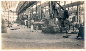 Image of Photograph of the Machine Shop Section in Angus Mill, Calcutta DUNIH 2018.16.2.6